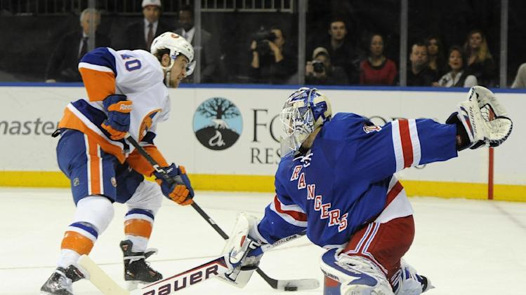 Talbot gets nod in goal again for Rangers