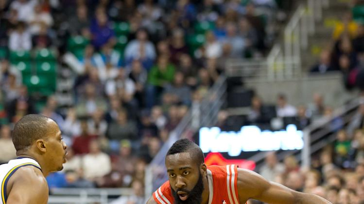 NBA: Houston Rockets at Utah Jazz