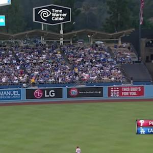 Ethier's RBI double