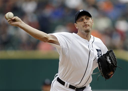 Max Scherzer has 9 Ks as Tigers beat Angels 5-1