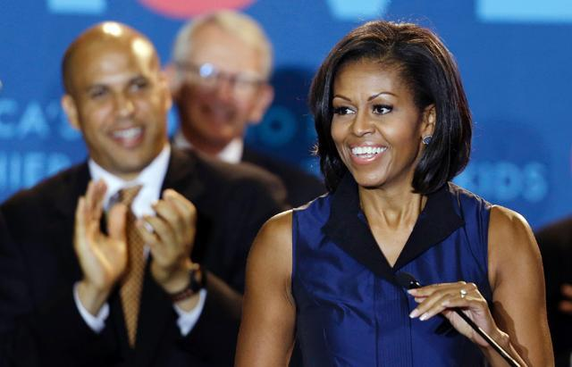 Photos:  Michelle Obama's Brilliant Blues