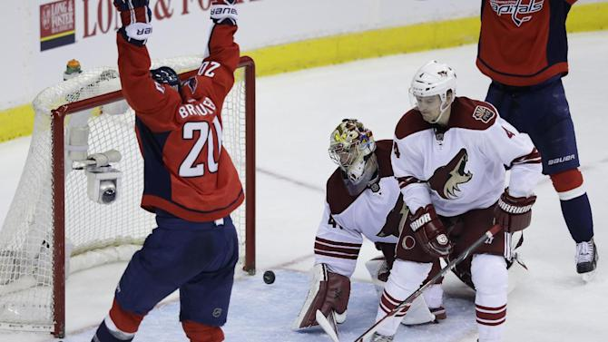 Capitals top Coyotes 3-2 with three-goal third