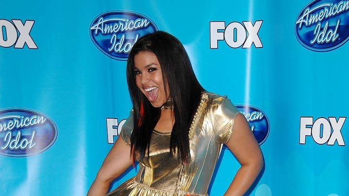 Jordin Sparks in the press room at the American Idol Season 7 Grand Finale on May 21, 2008 at the Nokia Theatre in Los Angeles, California.