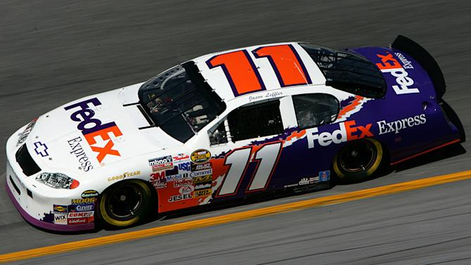 Hamlin honors Leffler with 2005 paint scheme