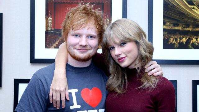BFFs Taylor Swift and Ed Sheeran Will Go Head-to-Head at the 2015 American Music Awards
