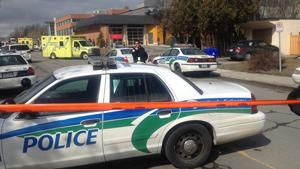 About 20 police vehicles responded after a shooting at a daycare in Gatineau, Que.