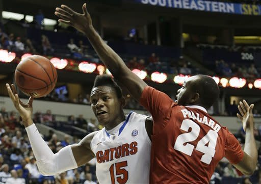 No. 13 Florida defeats Alabama 61-51 in SEC semis