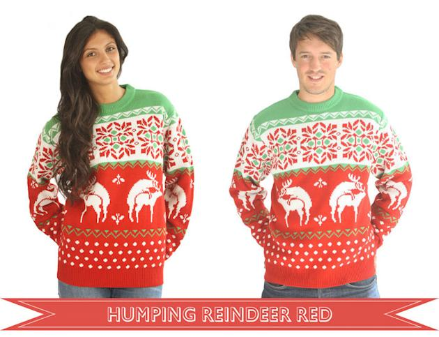 Humping Reindeer Christmas Jumpers