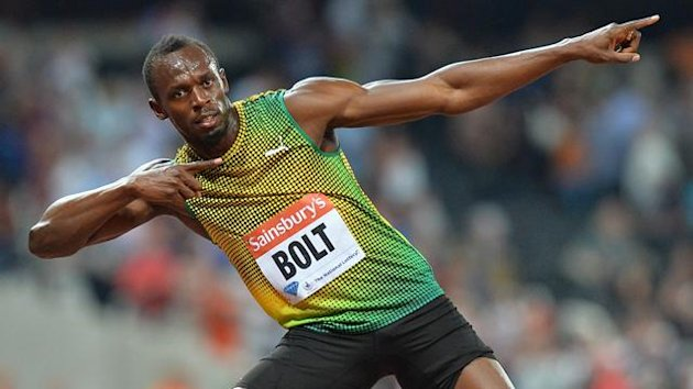 2013 Londres Usain Bolt