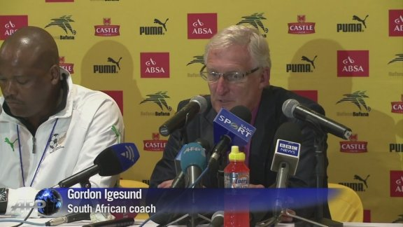 S.Africa end Cup of Nations warm-up with Algeria draw