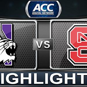 Northwestern vs NC State | 2013 ACC Basketball Highlights