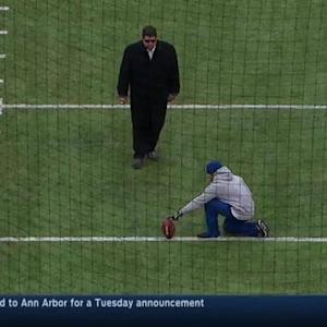 Tony Siragusa's great field-goal form