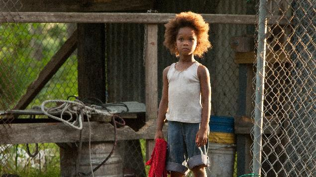 """FILE - This film image released by Fox Searchlight Pictures shows Quvenzhane Wallis portraying Hushpuppy in a scene from, """"Beasts of the Southern Wild."""" """"Flight,"""" """"Django Unchained,"""" """"Beasts of the Southern Wild,"""" """"Red Tails"""" and """"Tyler Perry's Good Deeds"""" are up for the outstanding motion picture trophy at the 44th annual NAACP Image Awards. (AP Photo/Fox Searchlight Pictures, Mary Cybulski)"""