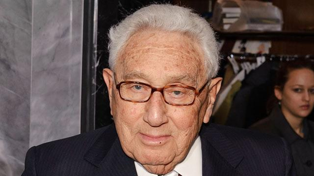Henry Kissinger Hospitalized After Fall