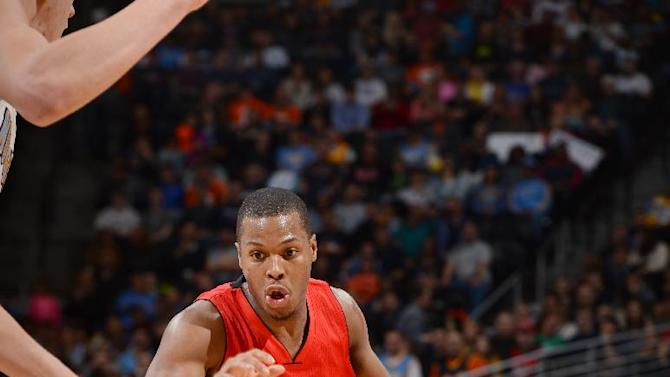 Lowry's double-double leads Raptors over Nuggets, 116-102