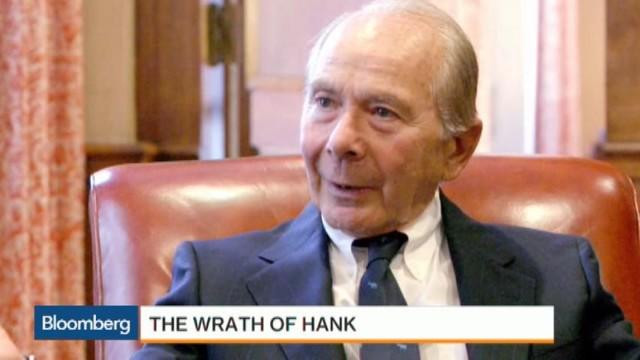 Hank Greenberg a Decade After AIG