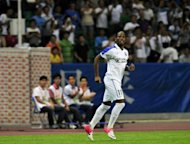 Manchester United manager Sir Alex Ferguson said Monday he may have considered signing Didier Drogba, pictured on July 22, if the striker had opted to remain in the Premier League after he left Chelsea last month