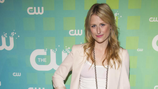 Mamie Gummer attends The CW Television Network's Upfront 2012 in New York, Thursday, May 17, 2012. (AP Photo/Charles Sykes)