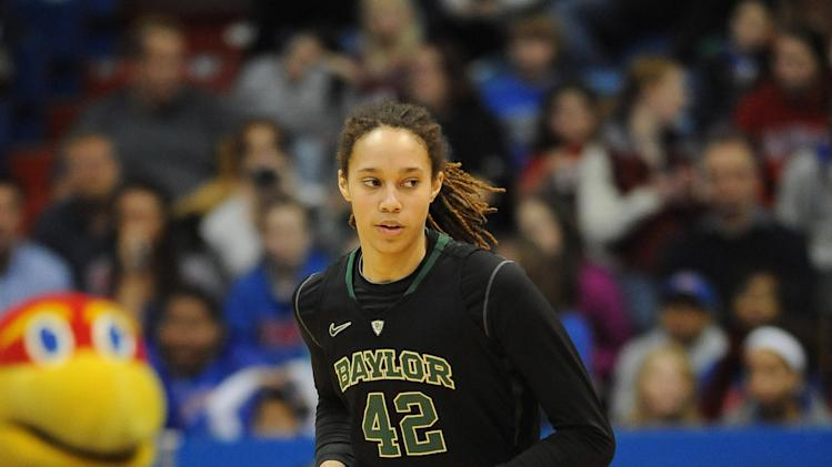 NCAA Womens Basketball: Baylor at Kansas