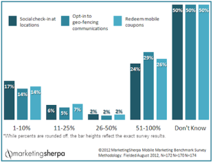 Mobile Marketing: 50 Percent of Marketers Have No Idea image MobileMarketingStats1