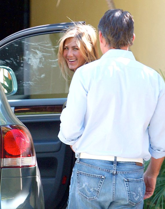 Aniston Jennifer With Publicist