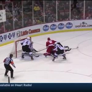 Calvin Pickard Save on Johan Franzen (17:25/1st)
