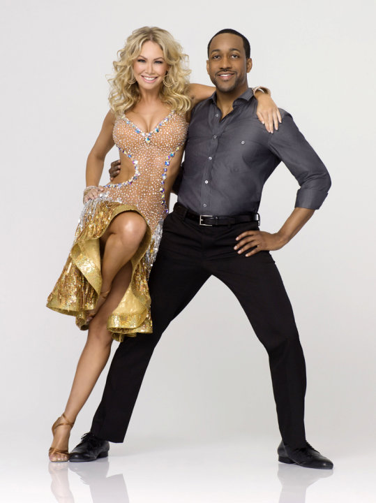 Kym Johnson and Jaleel Wh …