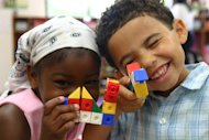 Building blocks are one way to encourage creativity in your child.