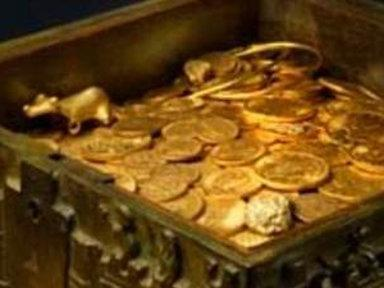 Treasure Hunters Search for Hidden Gold Fortune