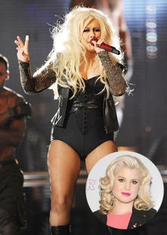 "Kelly Osbourne: I Was Never as ""Fat"" as Christina Aguilera"