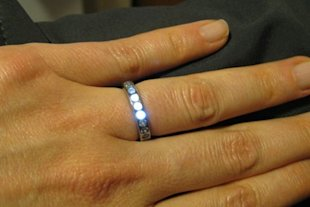 Forget Butterflies, This Ring Lights Up When Your Partner Is Near
