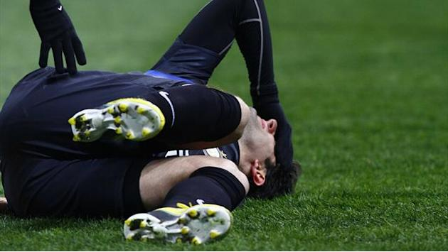 Serie A - Injured Milito boosted by messages of support