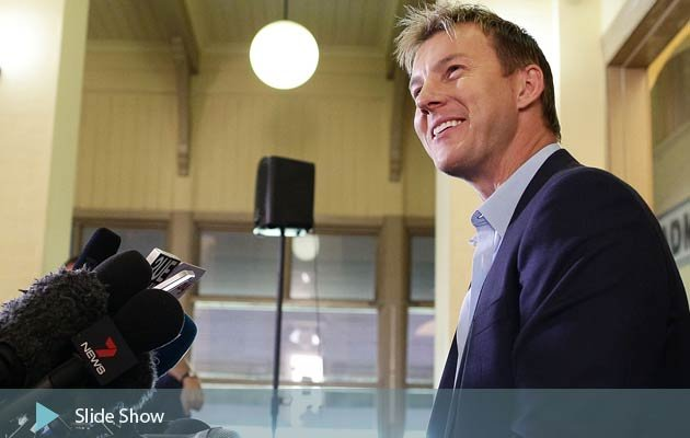 Brett Lee's retirement press conference