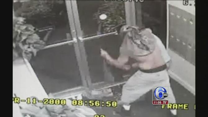 Woman's struggle with robber caught on camera