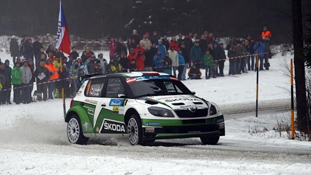 Kopecky in action in Austria