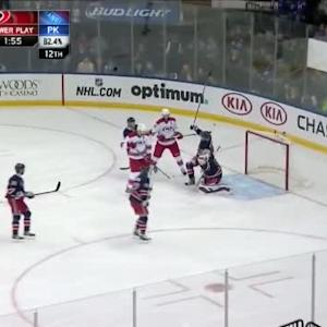 Henrik Lundqvist Save on Ryan Murphy (09:19/1st)