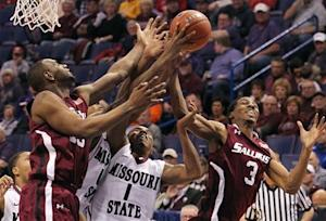 Missouri State downs Southern Illinois 61-53