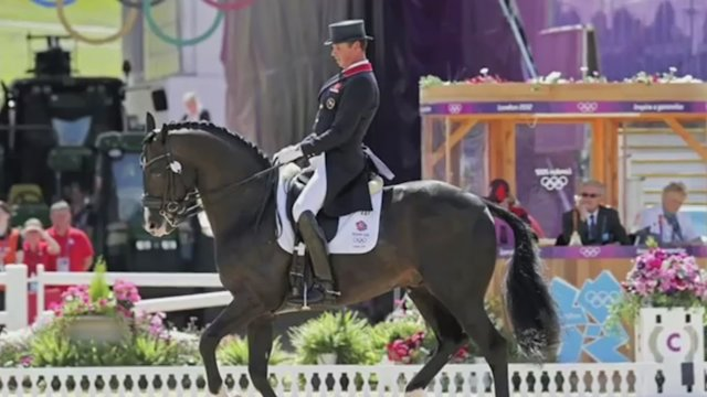 Dressage trio overjoyed with Olympic gold