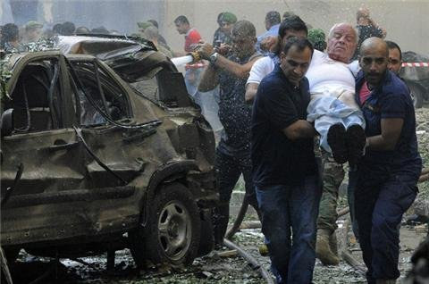 Syria blamed for deadly Lebanon blast