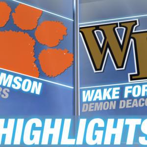 Clemson vs Wake Forest | 2014-15 ACC Women's Basketball Highlights