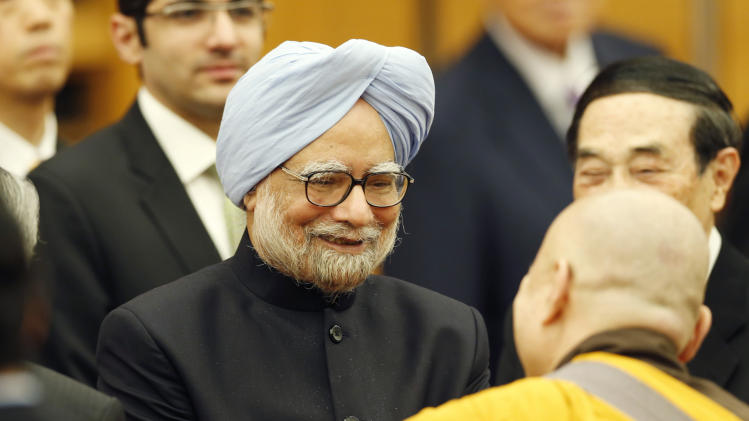 India's PM: Japan 'natural' partner on sea issues