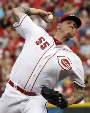 Bruce homers, Reds beat slumping A's 3-1