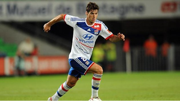 Lyon's Gourcuff sidelined for three months
