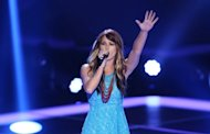 Cassadee Pope performs on NBC&#39;s &#39;The Voice&#39; -- NBC