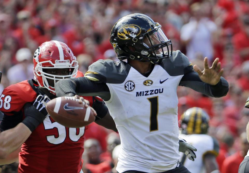 Missouri QB Franklin out 3-5 weeks