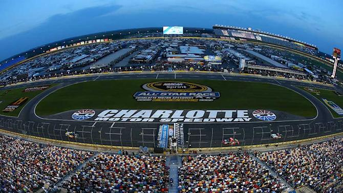 Entry list for Charlotte Nationwide race