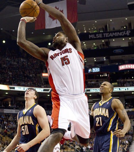 Hill scores 22 as Pacers beat Raptors