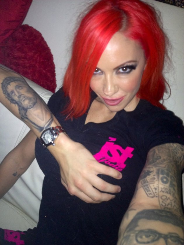 Jodie Marsh with Kirk Norcross