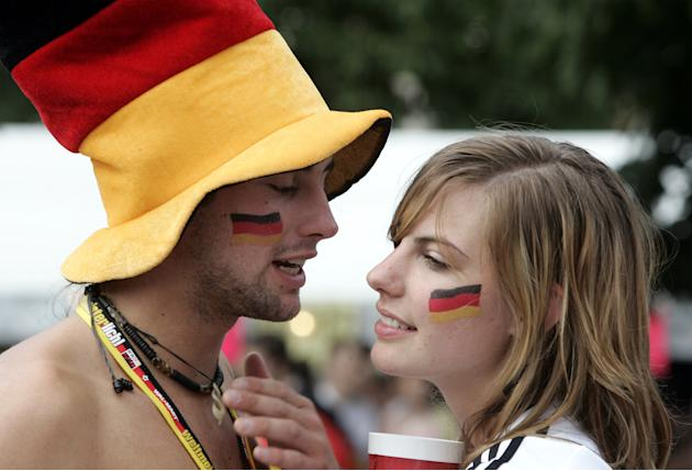 Soccer - World Cup Semi-Final - Germany v Portugal - Public Viewing Area - Stuttgart
