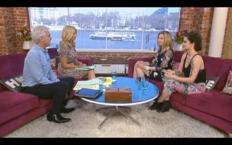ITV This Morning programmes discusses whether celebrity tattoos are a bad influence or not on younger people.